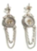19th c. Mini Seal Chain Earrings.png