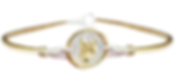 Zodiac Oval Bangle