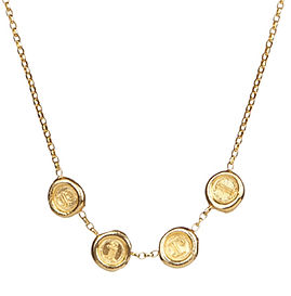 A-Z and 1-9 Multi Personalised Petite Wax Seal Necklace