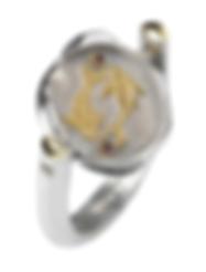 Spinning Zodiac Identity Ring
