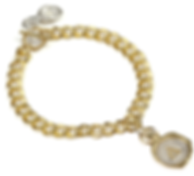 Mini Personalised Seal Chain Bracelet