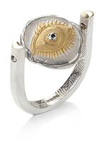 Spinning Winking Eye Ring