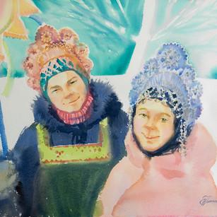 Морозный денёк
