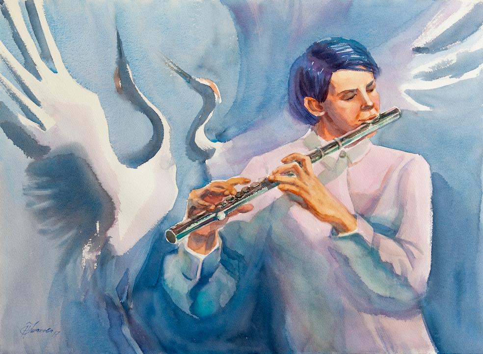 Голубая флейта