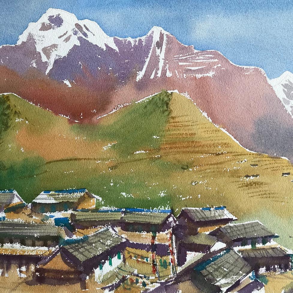 Великая Аннапурна. Непал