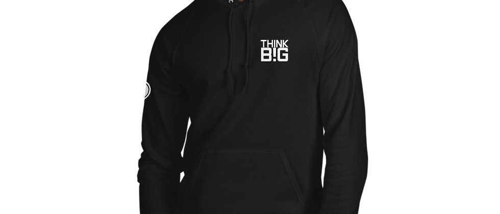 THINK BIG! Unisex Production Crew Hoodie