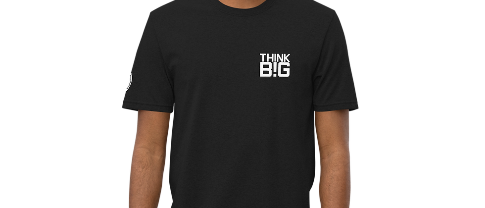 THINK BIG! Unisex Production Crew Tee