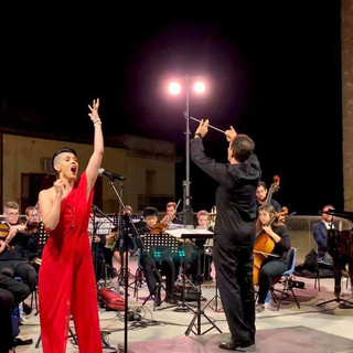 Sicily concert outdoors