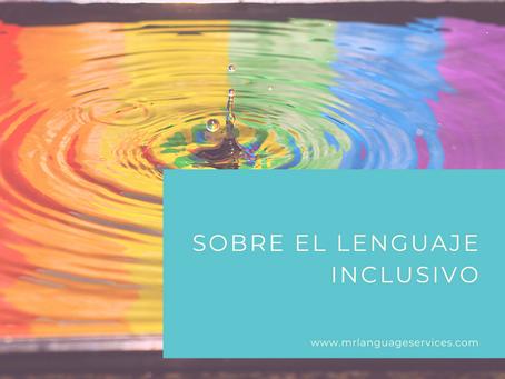Entrevista sobre el lenguaje inclusivo en La Ventana Latina