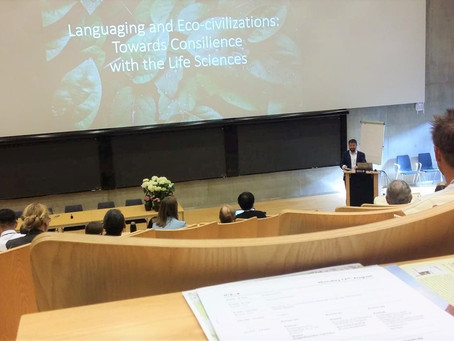 Presenting at the 4th International Conference on Ecolinguistics (ICE-4)
