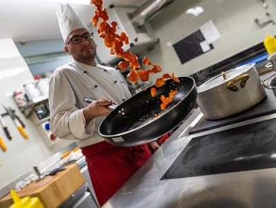 Daniel, lo chef del Cavallino Bianco di Rumo