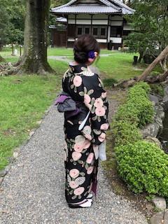 レンタル着物で京都