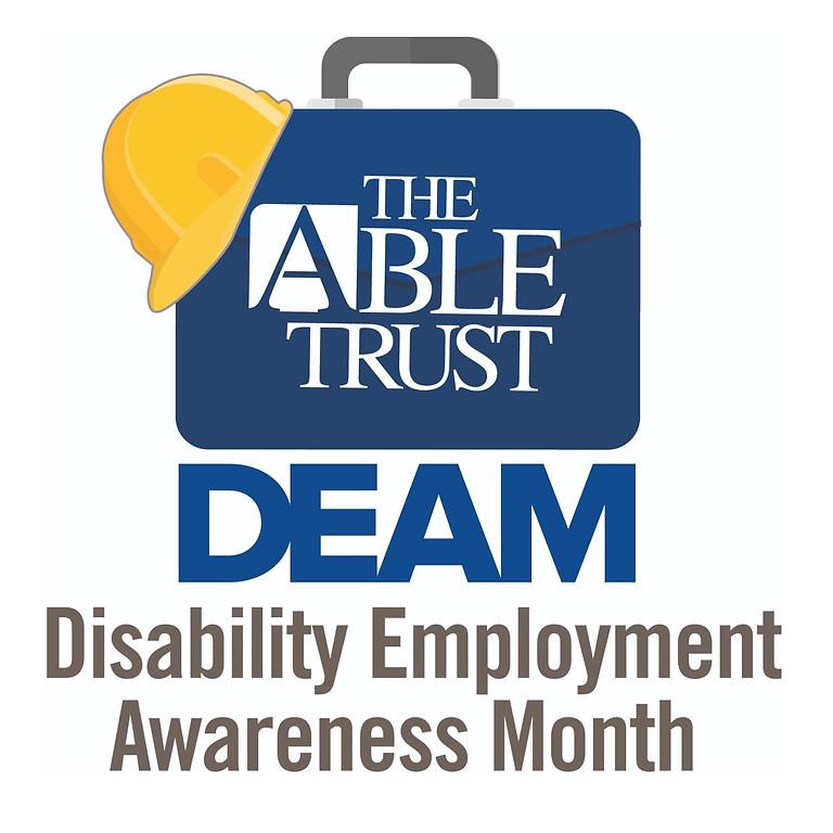 Disability Employment Awareness Month (DEAM)