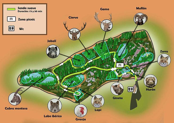 mapa recorrido verde la maleza .jpg