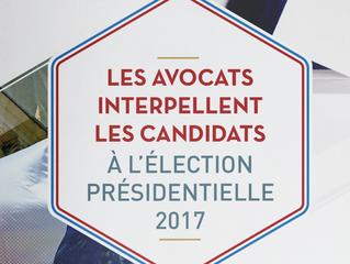 Les candidats à l'élection présidentielle répondent aux questions des avocats