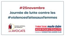 25.11.2020. Journée de lutte contre les violences faites aux femmes
