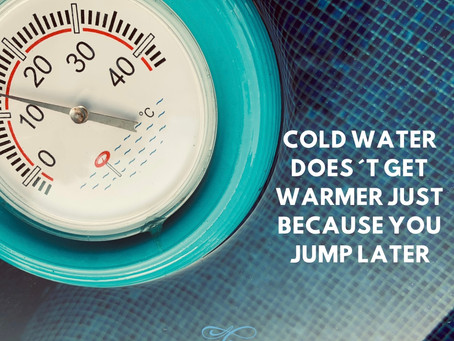 Why swimming in cold water not only makes you physically fit but also strengthens your mind