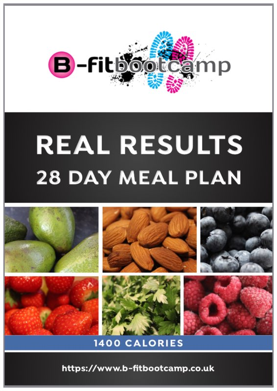 28 Day Weightloss plan