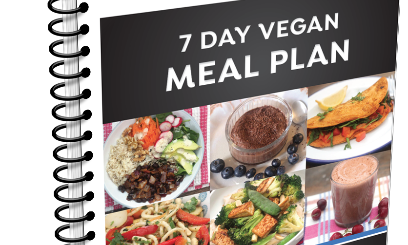 7 day Real Results Vegan weight loss plan