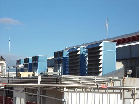 Sistema de Ventilação da Central Termoelétrica de Santa Bárbara