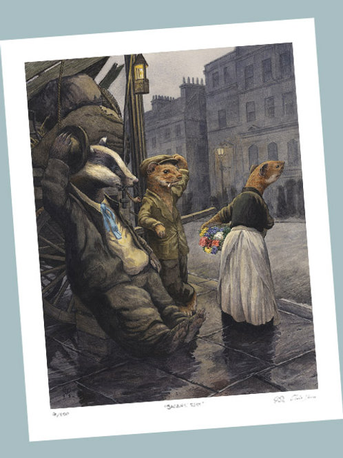 'Good Evening M'lady' Signed Limited Edition Print
