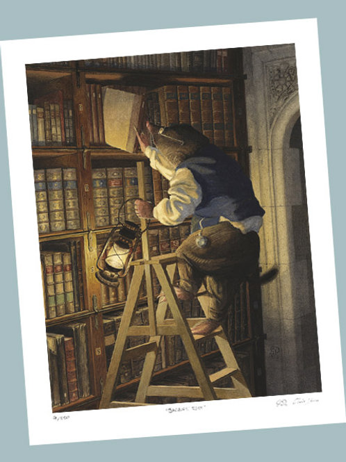'Night-Time Reading' Signed Limited Edition Print