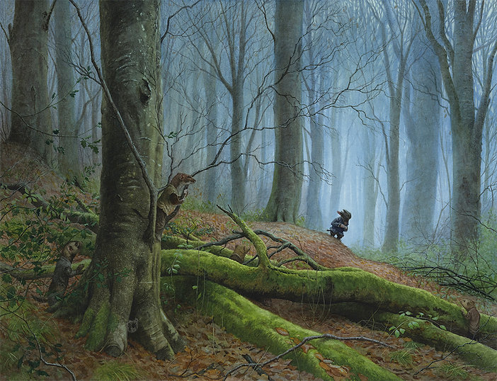 Mole In The Wild Wood Chris Dunn Illustration Art Wind In The Willows