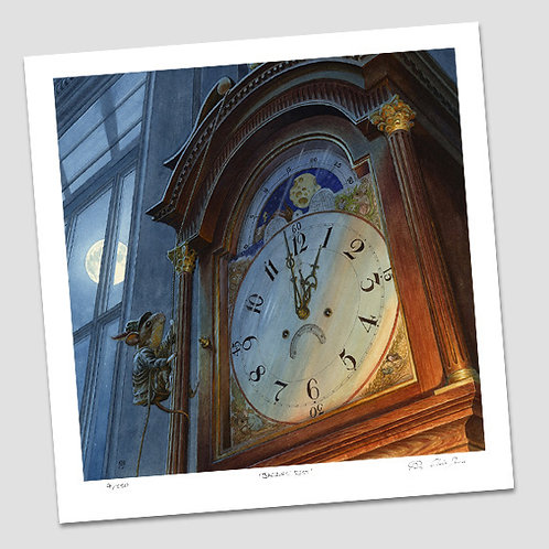 'Hickory Dickory Dock' Signed Limited Edition Print