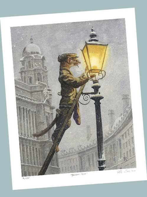 'Lamplighter' Signed Limited Edition Print