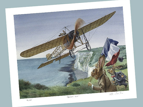 'Channel Flight' Signed Limited Edition Print