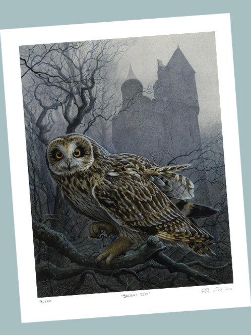 'She Guarded The Castle' Signed Limited Edition Print