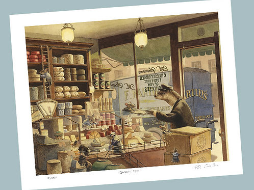 'Cheese Delivery' Signed Limited Edition Print