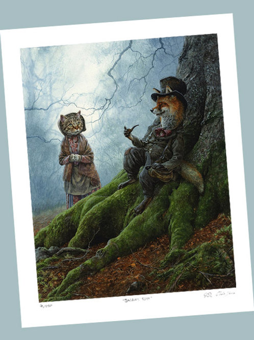 'The Fox And The Cat' Signed Limited Edition Print