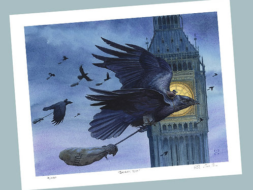 'Air Mail' Signed Limited Edition Print