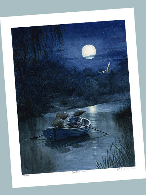'Moonlit River' Signed Limited Edition Print