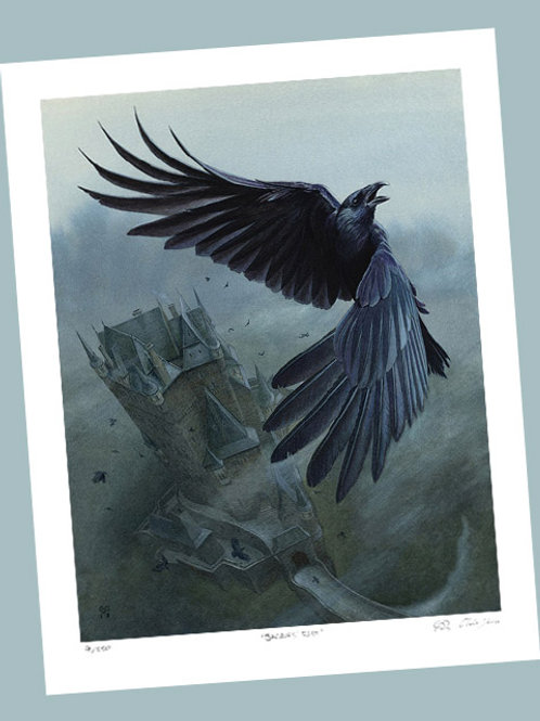 'The Raven' Signed Limited Edition Print