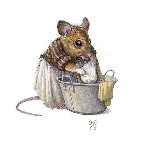 'Washermouse' Small Print