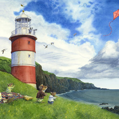 Picnic By The Lighthouse