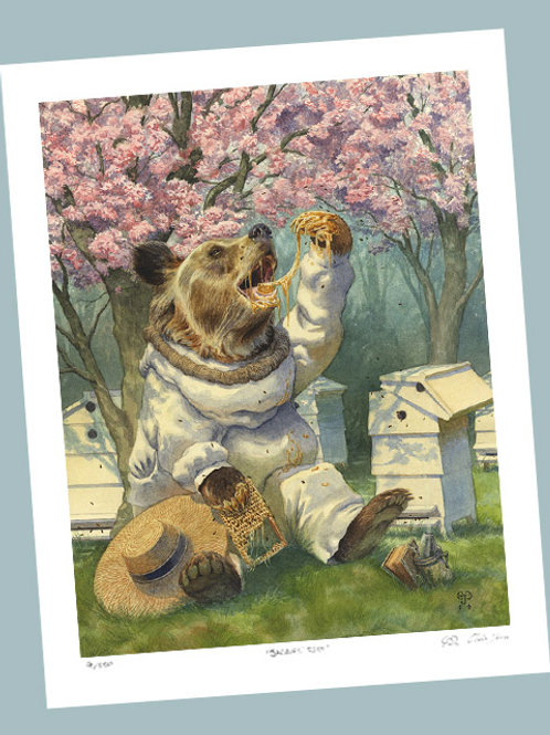 'Beekeeper' Signed Limited Edition Print