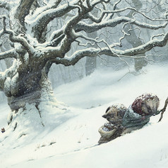 Pushing Through The Snow