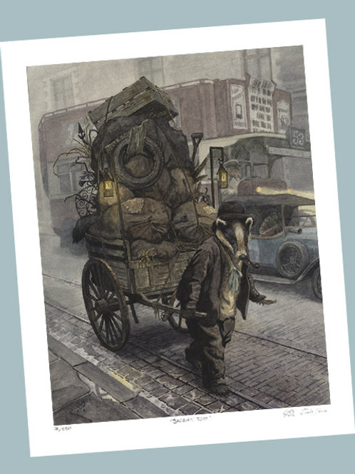 'Rag And Bone' Signed Limited Edition Print