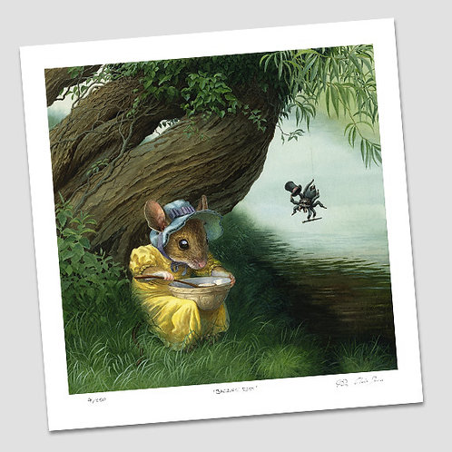 'Little Miss Muffet' Signed Limited Edition Print