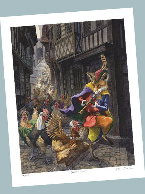 'Pied Piper' Signed Limited Edition Print