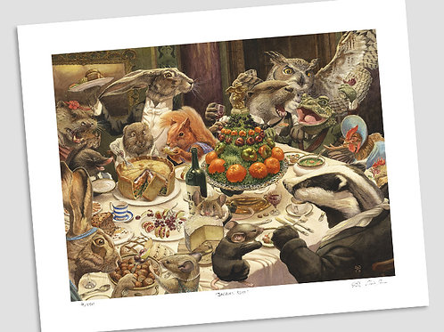 'Feast' Signed Limited Edition Print