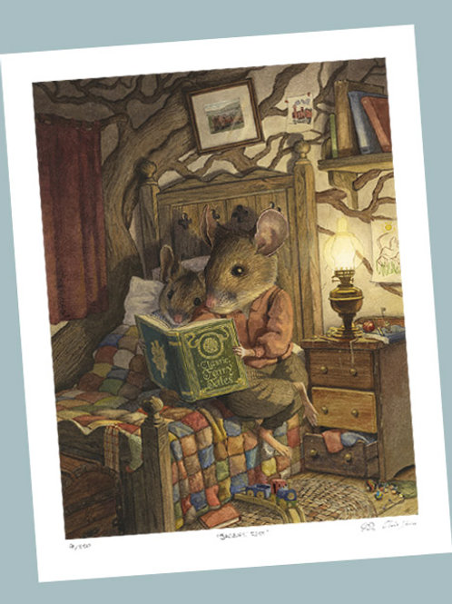 'Bedtime Story' Signed Limited Edition Print