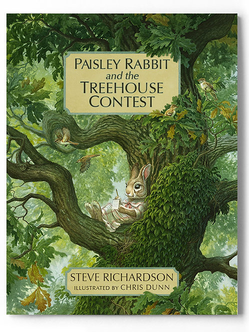 'Paisley Rabbit and the Treehouse Contest' book signed by Chris Dunn