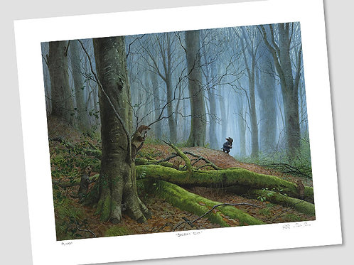 'Mole In The Wild Wood' Signed Limited Edition Print