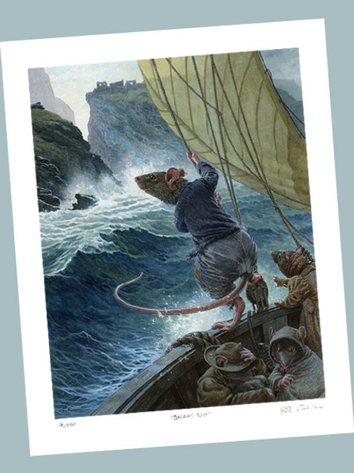'The Sea Rat' Signed Limited Edition Print
