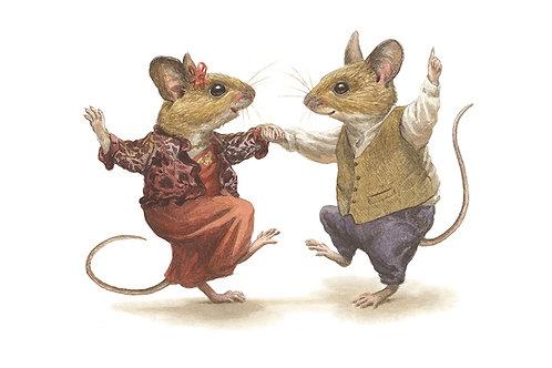 'Dancing Mice' Small Print
