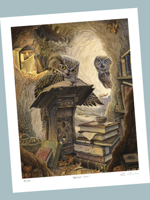 'Autumn Scribe' Signed Limited Edition Print